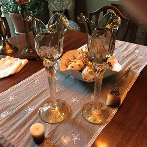 Murano Glass votive candle holders
